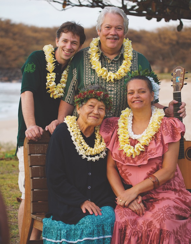 a picture of the Aloha Music Camp Beamer Family